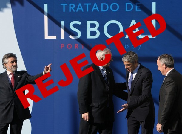 Treaty of Lisbon - rejected by the Irish people