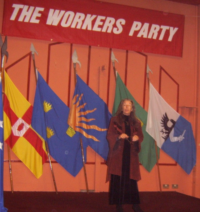 Maura Harrington at Workers Party Ard Fheis 2005